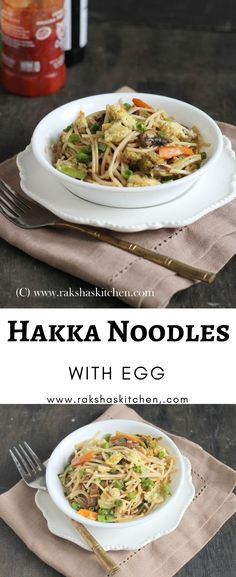 Hakka Noodles With Egg Perfect Indo-Chinese snack. #recipes #pinterestrecipes #snacks #noodles #hakkanoodles #Indo-Chinese #egg #eggrecipe