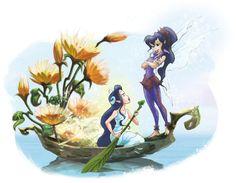El arte de hadas de Disney