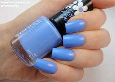 Rimmel 60 Seconds Super Shine Nail Polish 'Bestival Blue' by Rita Ora Swatch and Review - Hair • Nails • Etc