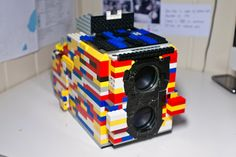 SIMPLE DIY PROJECT MAKES A WORKING CAMERA FROM LEGOS & BINOCULARS