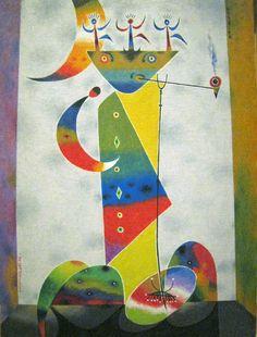 Dallaire, Jean - Le fumeur d'opium (Trois danseurs) - Musée d'art contemporain de Montréal Oeuvre D'art, Les Oeuvres, Kids Rugs, Painting, Decor, Art, Museum Of Contemporary Art, Dancers, Artists
