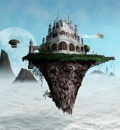 sky castle - Google Search