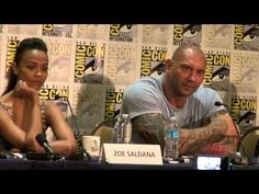 Marvel's Guardians of the Galaxy (2015) - San Diego Comic Con Press Conference