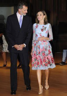 La reina Letizia, de estreno por partida doble