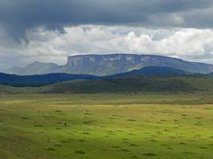 The southern flank of Chirikayen in la Gran Sabana, #Venezuela  (Man, I miss my country.)