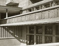 Midway Gardens. 1914 (demolished in 1923) Chicago. Frank Lloyd Wright