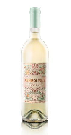 Pearly Yon: Ashbourne Wine Label