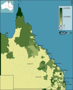 Description Australian Census 2011 demographic map - Queensland by POA ... - Find out where your Ancestors came from! - Display all your tree on your own #Genealogy Website, check it out!