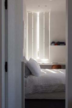 Among the most underemphasized areas of a home are its windows. When considering a home improvement project to take on, adding shutters is among the easiest ways to give your house a facelift. Modern Shutters, Indoor Shutters, Interior Window Shutters, Frosted Glass Interior Doors, Interior Decorating, Interior Design, Living Room Interior, Beautiful Interiors, Cheap Home Decor