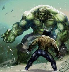 #Hulk vs #Wolverine <<< #FanX is coming April 17-19, 2014, saltlakecomiccon.com >>>