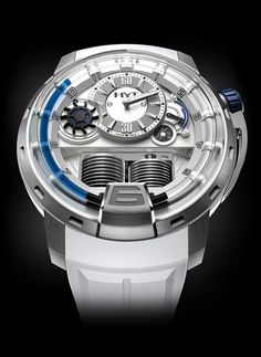 HYT H1 Iceberg. Pieces of hybrid mechanical watches