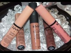 #134 Nude/Neutral Lipgloss for Dark Skinned Divas - YouTube