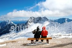 Great views of the Zugspitze - Bavarian Alps, Garmisch-Partenkirchen.