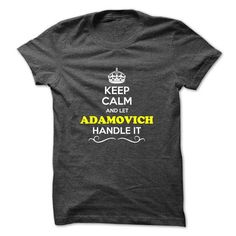 awesome ADAMOVICH t shirt, Its a ADAMOVICH Thing You Wouldnt understand Check more at http://cheapnametshirt.com/adamovich-t-shirt-its-a-adamovich-thing-you-wouldnt-understand.html