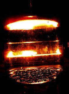 Glas im Kerzenlicht - patchwork impressions