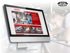 """Dzięki uprzejmości firmy RGB Vortex mieliśmy okazję stworzyć layout dla """"Automatech""""  - Dostarczamy dedykowane układy automatyki do sterowania procesami przemysłowymi oraz towary i usługi dla różnego rodzaju odbiorców.  http://automa-tech.pl"""