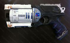 R2D2 Nerf gun