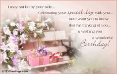 Birthday   15 Most Beautiful Birthday Cards , Sms and Quotes