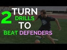 How To Improve Your Turns In Soccer | Soccer Drills - YouTube #improveyoursoccergame
