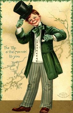 This is a set of St Patrick's Day Men images! These are are all old vintage postcards with a St Pats Day theme, included are a Lepruchan & St Pat himself! Vintage Postcards, Vintage Images, Vintage Cards, Vintage Clip, Irish Boys, Irish Men, St Patricks Day Cards, Saint Patricks, Top O The Morning