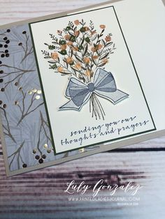Painted Ladies Journal: Wishing You Well Wish You Well, Painted Ladies, Woman Painting, Birthday Cards, Stampin Up, Bday Cards, Anniversary Cards