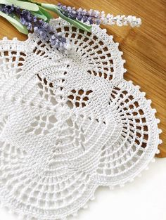 Excited to share this item from my shop: White crochet table doily, Vintage handmade doily, Coffee table placemat, White kitchen decor, Square cotton doily Crochet Doily Patterns, Granny Square Crochet Pattern, Crochet Round, Crochet Home, Crochet Motif, Crochet Doilies, Free Crochet, Cotton Crochet, White Kitchen Decor