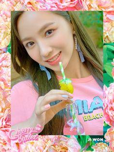 jiwon — cherry bullet Kpop Girl Groups, Korean Girl Groups, Kpop Girls, Kpop Comeback, Ar Game, Bolet, I Love You Baby, Fandom, Fnc Entertainment