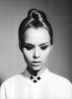 sleek & stylish top knot