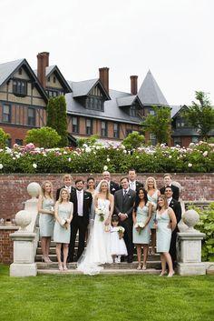 Shelburne Farms Wedding In Shelburne, Vermont Lakeside Wedding, Farm Wedding, Chic Wedding, Wedding Bells, Dream Wedding, Wedding Things, Elegant Wedding, Perfect Wedding, Wedding Cake