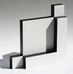 White and Black Sculpture by Lygia Pape, 1965