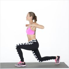 Alternating Back Lunge