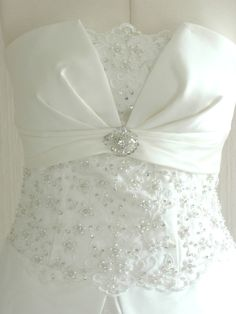 ON SALE 'Francesca' Bridal Gown Handmade Wedding Dress. $799.00, via Etsy.