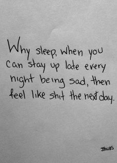 Every night and every day...