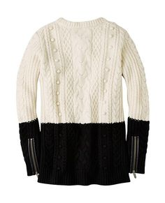 Lambswool Cable Sweater   Womens Sweaters & Jackets