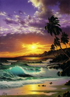 anthony casay | tropical paradise by anthony casay http www iaghawaii com anthonycasay ...
