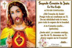 Imágenes de Cecill: Estampita y Oración al Sagrado Corazón de Jesús!