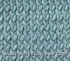 Knitting Two Color Bee Stitch : Two-Color Pattern 3 knitting Pinterest Knitting Stitches, Knitting Stit...