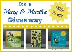A review and giveaway of Mary & Martha - fun ABC Magnets and a fabulous board book for little ones! Host a gathering or online event to earn FREE goodies for your home. | TheConfidentMom.com
