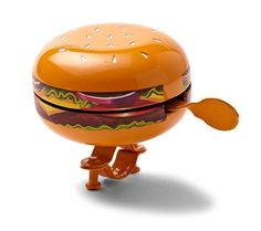 Cheeseburger Bike Bell