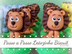 Passo a passo Leãozinho Biscuit - YouTube