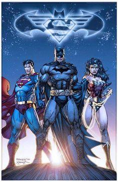 Superman Batman & Wonder Woman