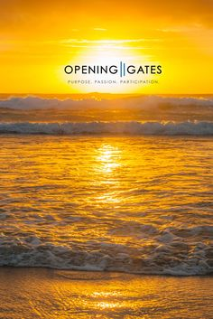 At our LIFE by DESIGN Retreats in Kingscliff, our designers are spoilt with some beautiful sun rises. Transform Your Life, Gate, Sunrise, Designers, Beautiful, Portal, Sunrises