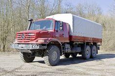 Mercedes-Benz Zetros + All Wheel Drive (AWD) Technology: Zetros 6x6