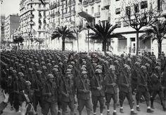 Spain - 1939. - GC - Besættelsen af Barcelona