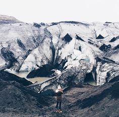 Walking on a glacier is a very Icelandic way to end this amazing trip to Iceland (at least I think so). Last day in Iceland and I'm sad to say goodbye but so happy to be headed home  by studio.niche