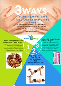 3 ways to increase breast size fast at home in 30 days How To Get Bigger Breats, Be Natural, Natural Baths, Natural Health, Chest Workouts, Living A Healthy Life, Chest Muscles, Bigger Breast, Healthy Weight