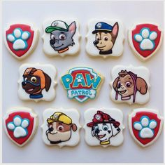 "Jessica Edwards on Instagram: ""Finished Paw Patrol cookies! #pawpatrol…"