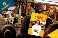 """""""Chef"""" conta a história da """"volta por cima"""" do responsável pela cozinha de um requisitado restaurante em Los Angeles, e que acaba sendo demitido por conta de desacordos com o proprietário. Inspirador para quem buscar saber mais sobre inovação e recomeços!"""
