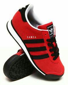 49653ac40bb13 Adidas - Samoa, red Adidas Schuhe, Sportschuhe, Bekleidung, Schuhe Frauen,  Turnschuhe