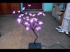 How to make LED tree at home (hindi) - YouTube